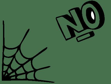 spider-no